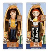 Disney Toy Story 4 Talking Woody And Jessie 16 Action Figures Collector Toys New