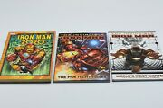 Invincible Iron Man Tpbs V1and2 And Iron Man 2020 3 Book Lot Marvel Comics