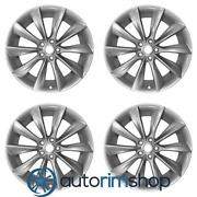New 21 Replacement Wheels Rims Tesla Model S - Staggered Set Turbine Silver ...