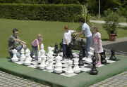 Chess Pieces Chess Set Large - Indoor / Outdoor - The Game Room Store, Nj 07004