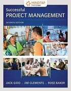 Successful Project Management By Gido Jack Clements Jim Baker Rose
