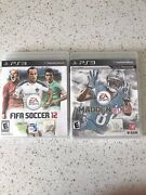 Madden Nfl 13 Ps3 Playstation 3 And Fifa Soccer 12