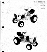 Case 220 222 224 444 Compact Garden Tractor Parts Manual Replaces 8-2741 On Cd