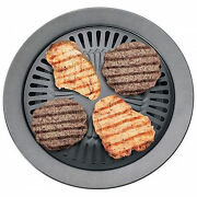 Smokeless Indoor Stovetop Bbq Grill Barbeque Kitchen Barbecue Pan Griddle