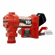 Fill-rite Fr604h Self-priming Cast Iron 115-volt Ac Fuel Pump And Elbow Only