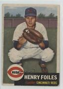 1953 Topps High Hank Foiles Henry 252 Rookie