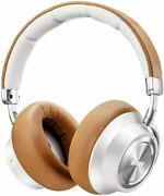 Boltune Wireless Bluetooth Headphones Active Noise-cancelling Bt-bh011 White