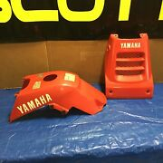 Yamaha Warrior Vintage 1988 Oem Front Hood And Tank Cover Chappy Red Resto Parts