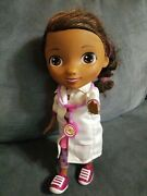 Doc Mcstuffins Talking Toy Hospital Doc Doll 12 Battery Operated Doll Only....