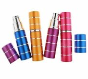 Spraying Perfume Bottles Atomizer Set Aluminum Empty Refillable Scents Container