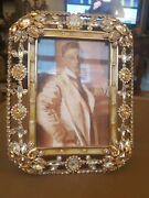 Jay Strongwater Multi Jeweled Picture Frame 4x6 Nib
