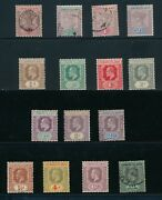 Leeward Islands 1897-1951 30 Mh And Used Incl 10 1-3 43 54 + Others