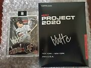 Topps Project 2020 51 Mike Trout By Ben Baller Bbdtc Auto 77/200