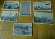 6 U.s. Army Signal Corps-ww2soldiers Postcards In Action Howitzers, Paratroops