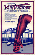 Vain Victory The Vicissitudes Of The Damned 1971 Off-broadway Poster