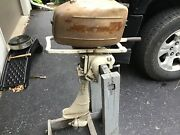 Vintage Clinton Chief Outboard Motor / Antique/ Boat. Project Motor