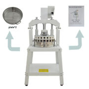 36 Piece Bread Maker Commercial Manual Hydraulic Dough Cutter Spacer Bakery