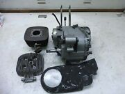 1973 Harley Z90 Aermacchi Amf Sm354 Engine For Parts Or Rebuild