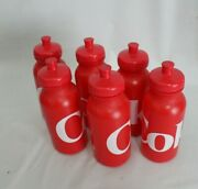 Coca Cola Coke Red Plastic Water Bottle Bicycle Sports Water Bottle