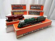 ✅lionel Southern Crescent Mikado Steam Engine 5 Freight Cars Farr 4 Set 6-8309