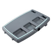 Stupid Car Tray Personal Food And Drink Travel Organizer, Gray/mint 12 Pack