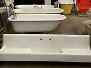 Old Farmhouse Kitchen Sink Double Washboard Cast-iron 78x22x18
