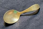 Vintage Gaylord Silvercraft Hammered Sterling Baby Spoon Arts And Crafts