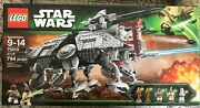 Lego Star Wars 75019 At-te Walker The Clone Wars 5 Minifigures New Sealed Mint