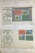 Boy/girl Scouts Stamps On Pages - Make An Offer Pg 4-124