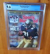 Sports Illustrated 1987 Brown First Cover Cgc 9.6 None Higher Will Never Be Beat