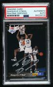 1992-93 Upper Deck Shaquille O'neal Trade Card Psa Authentic Psa/dna Cert Rookie