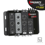 Taramps Crx4 Compact Electronic 4-way Crossover Kit 2x Crx-4 Low Mid High Pass