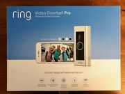 Ring Video Doorbell Pro, W/ Hd Video, Motion Activated Alerts, Easy Installation