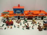 Sears Big Buffalo Western Town Play Set With Cowboys And Indians