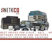 Used Cisco Ws-c4510r+e 4500e 10 Slot Chassis For 48gbps/slot Fan No Ps