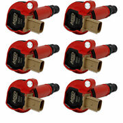 Msd 82576 Msd Ignition Coil - Ford 3.5l Ecoboost - 3-pin Connector - Red - 6-...