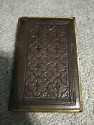 Kjv Plyglot Bagster Compact Holy Bible Vintage Antique Collectible