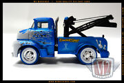 M2 Machines 1956 56 Ford Coe Tow Truck Gold Boom Super Chase 1/64 1 Of 252 Made