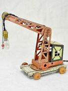 Antique Toy Crane Lamp From The 1930and039s
