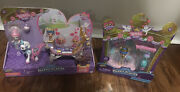 Shopkins Happy Places Royal Crown Carriage Playset And Charming Wedding Arch Doll