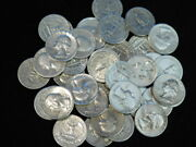 Washington Quarters Roll 40 90 Silver Mixed Dates And Mints 10 Face Value L3