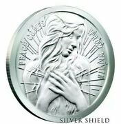 5 Oz .999 Pure Silver Shield Proof Peace Comes From Within Round Coin Wastweet