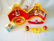Weebles Circus Tent And Acc. – 1977 – Hasbro – Great Condition