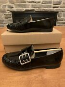 Ugg Charlotte Patent Leather Loafers Moccasins Shoes Size 7 Black