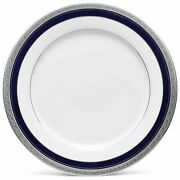 China Noritake Crestwood Cobalt Platinum Dinner Plate New With Tags