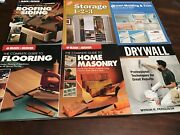 Lot Of 8 Black And Decker Guide To Flooring Roofing And Siding Masonry Home Depot
