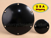 Smooth Accessories Engine Derby Timer Cover For Sportster Iron Xl883 1200 Black