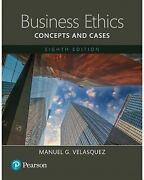 Business Ethics Concepts And Cases -- Books A La Carte 8th Edition By Velasq