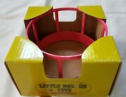 Nip Little Buster Toy Pink Priefert Hay Bale Feeder Ring 1/16 Scale Farm Country