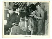 Thunder Of Drums-8x10 Promo Still-1961-george Hamilton-comanche Indian Vg/fn